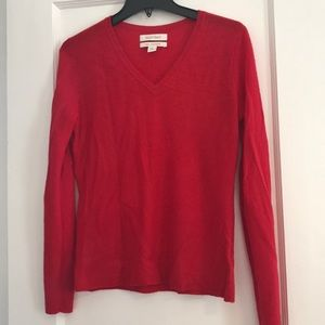 Red Cashmere Sweater